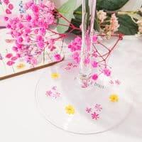 Butterfly Garden Gin Glass